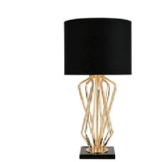 Лампа настольная ELVAN NL-00118-1-E27x1, black