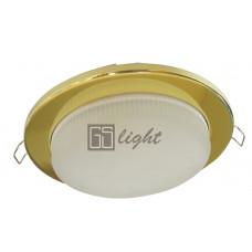 Светильник встраиваемый GS213 GX53 золото
