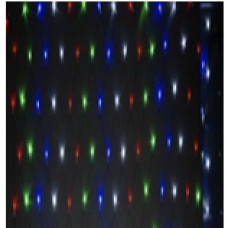 Сетка многоцветная IP44 2м*2м 256PCS 20.5W220V светодиодная